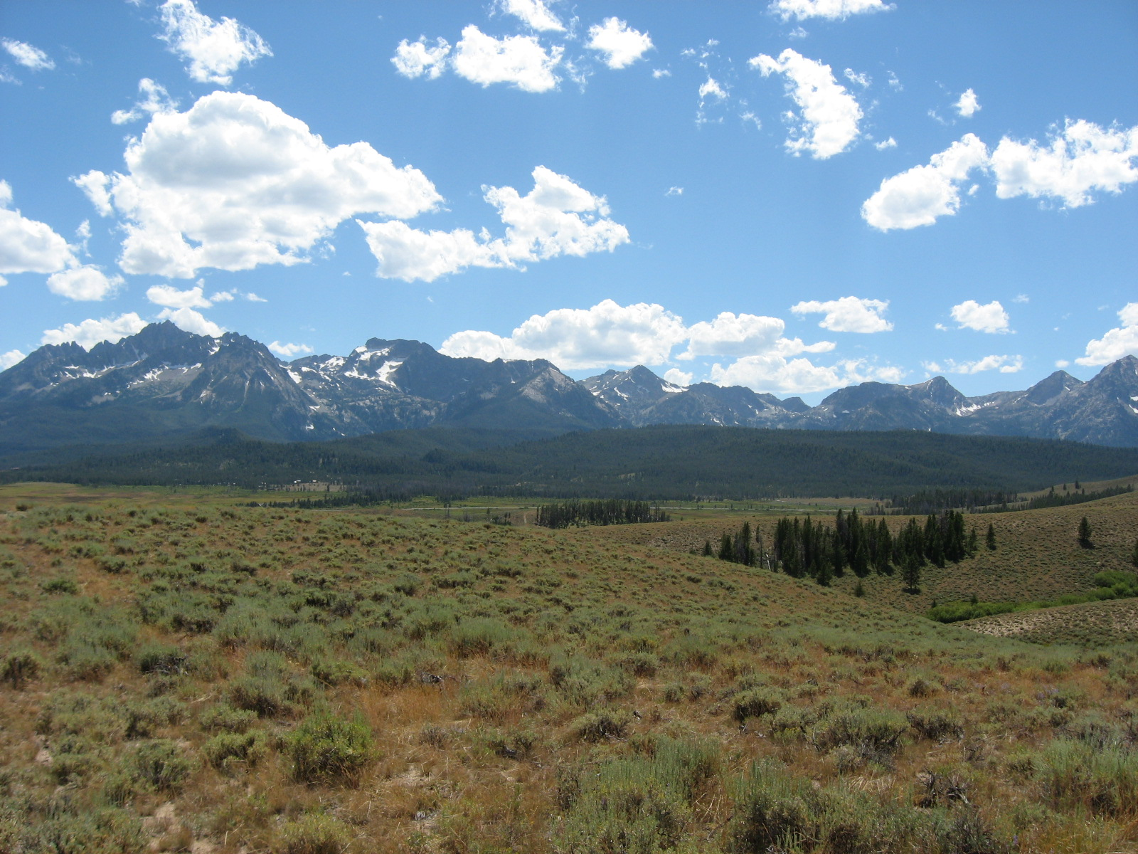 Stanley, Sawtooth Mountains